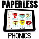 Google Classroom™ Activities Reading Phonics Practice (cups)