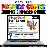 Phonics Activities - Simple Passages BOOM Cards {Distance