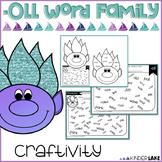 Word Family Craft CVCC