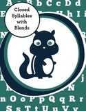Special Education Phonics Intervention: Multisyllabic Words  w/ Blends