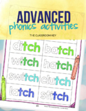 Phonics Activities for 2nd or 3rd grade, soft & hard c & g