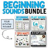 Phonics Activities for Beginning Readers - BUNDLE for Preschool