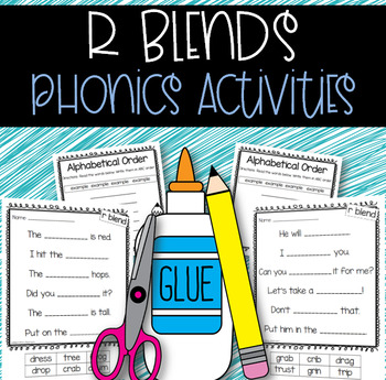 Phonics Activities: R Blends