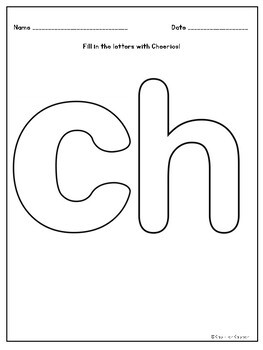 Phonics Activities: sh, ch, th digraphs