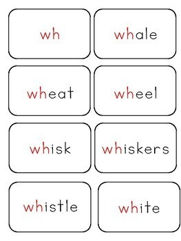 Phonics Activities: wh phoneme