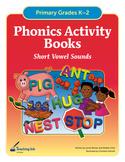 Phonics Activity Books - Short Vowels (Grades K-2) by Teac