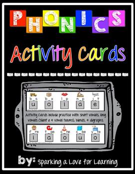 Phonics Activity Cards