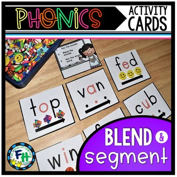 Phonics Activity Cards CVC Words