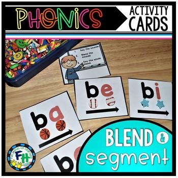 Phonics Activity Cards {Consonant & Vowel Blends}