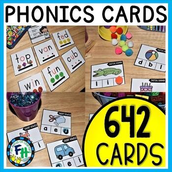 Phonics Activity Cards MEGA BUNDLE