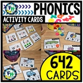 Phonics Activity Cards MEGA BUNDLE