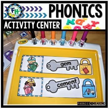 Phonics Activity Center Soft C & G