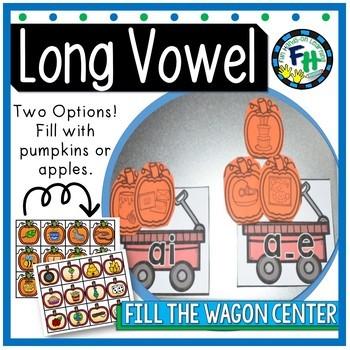 Phonics Activity Centers LONG VOWELS {Bundle of 4 Centers}