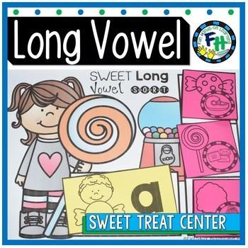 Phonics Long Vowel Activity Centers {Bundle of 4 Centers}