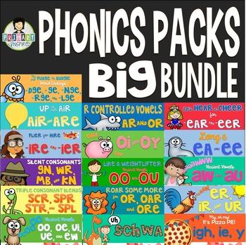 Phonics Activity Pack *BIG Bundle!