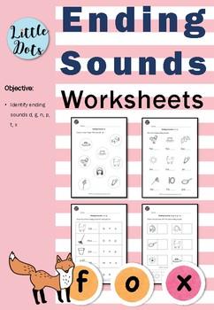 Ending Sounds Worksheets