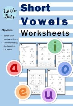 Short Vowels (Middle Sounds) Worksheets