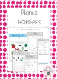 Phonics Activity Worksheets