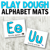 Phonics Activity for Beginning Readers - A to Z Play Dough Mats