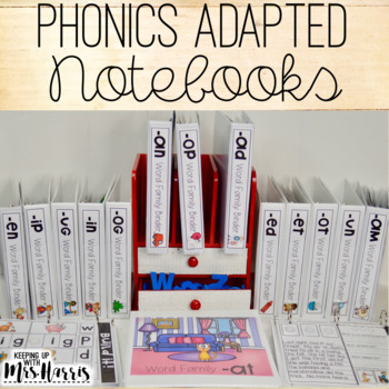 CVC Phonics Interactive Adapted Binders