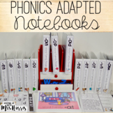 Phonics Interactive Adapted Binder BUNDLE!
