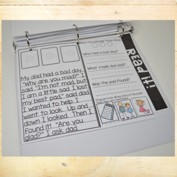 Phonics Interactive Adapted Binder: -ad Word Family