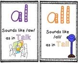 Phonics: Al and All