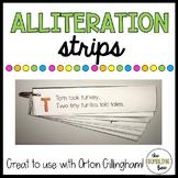 Orton Gillingham Phonics Alliteration Strips