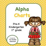 Phonics Alpha Charts