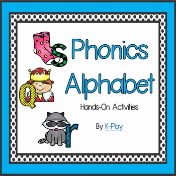Phonics Alphabet Hands-On A-Z Sounds Games and Activities