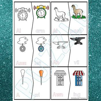 Phonics Beginning Sounds: Letters A to Z  (Puzzle Cards)