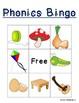 Phonics-Alphabet Bingo