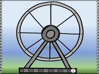 Phonics-Alphabet Letters - Ferris Wheel Letters & Sounds