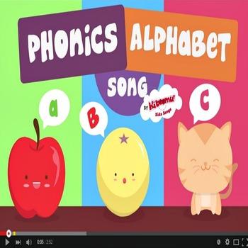 Phonics Alphabet Music Video