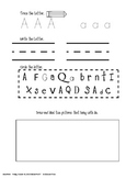 Phonics- Alphabet Pages