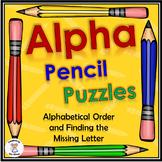 Alphabetical Order - Alpha Pencil Puzzles