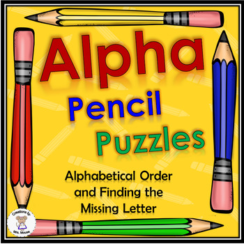 Phonics- Alphabet Pencils