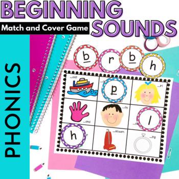 Beginning Sound Alphabet Game: Kindergarten, RTI
