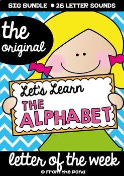 Alphabet Back to School Beginning Sounds