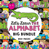 Alphabet Back to School Beginning Sounds Bundle