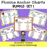 Phonics Anchor Charts Bundle set 1
