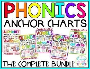 Phonics Anchor Charts {Growing BUNDLE}