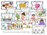 Phonics Anchor Charts and Posters