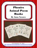 Phonics Animal Poem Books