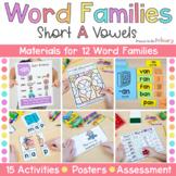 Word Family Activities | Short A | CVC & CVCC Instruction