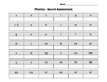 Phonics Assessment