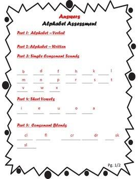 Phonics Assessment Bundle