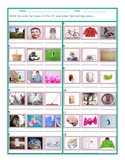 Phonics B Sound Photo Worksheet