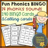 Phonics BINGO, Dipthongs and Digraphs, 166 usable pages