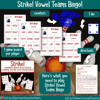 Word Work Games: 7 BINGO Themed Games with Sports Themes